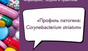 вебинар «Профиль патогена: Corynebacterium striatum» - фото - 1